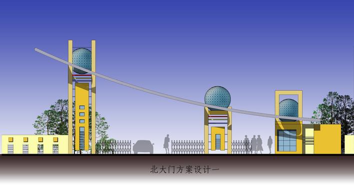 大门在线_CO土木设计(原网易图纸在线)土木钢结构gdc1图片