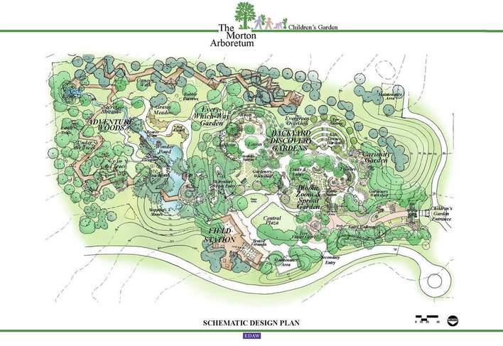 公园建筑平面图手绘图片