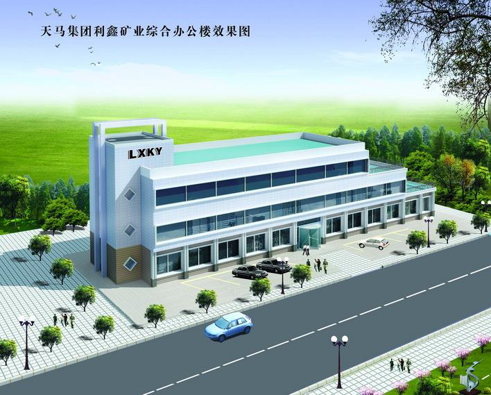结构施工图纸 某小型办公楼平立剖面图纸 小型欧式办公楼建筑设计施工