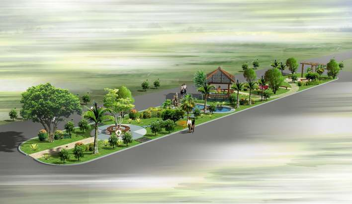 园林绿地设计 园林绿地规划设计 园林绿地规划 校园园林绿地设计 道路