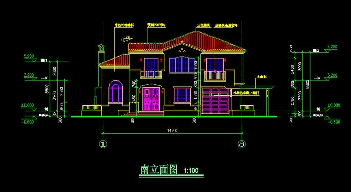 精典欧式别墅建筑图