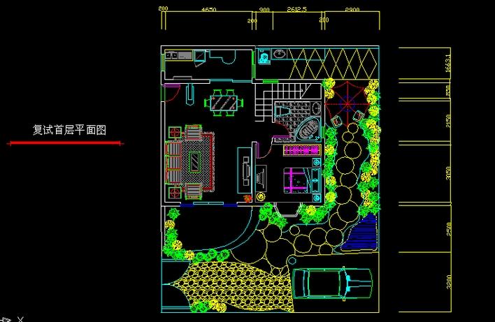 别墅平面图设计图纸 别墅设设计图纸效果图 别墅平面设计图大全高清图片
