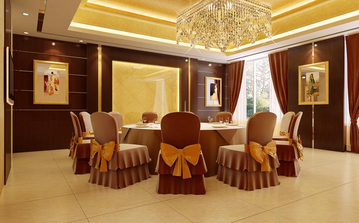 图纸 建筑图纸 商业建筑 餐厅设计 五星级餐厅小包间效果图  上传时间