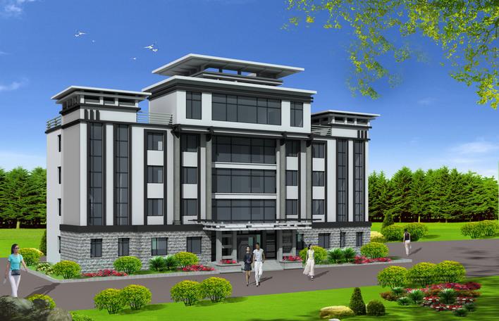 某乡政府办公楼设计方案