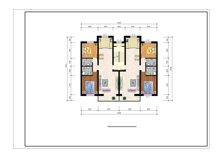 农村房屋户型设计图-农村9*12平米房屋设计图