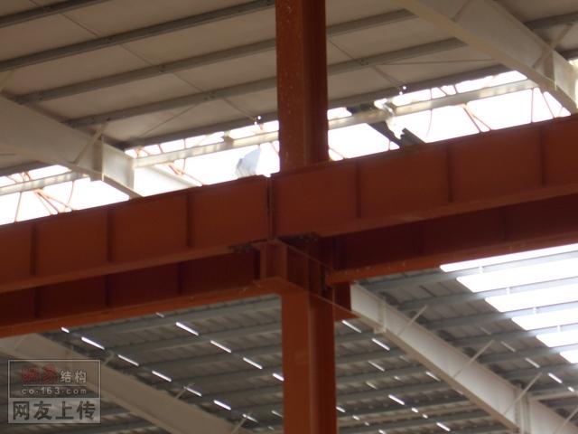 某地单层钢结构厂房结构施工图纸(局部夹层) 某地30米跨门刚结构厂房