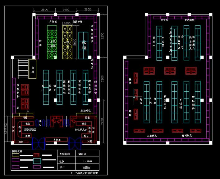 10套别墅平面图加效果图10套别墅.; 超市布局图;; 某超市布局图