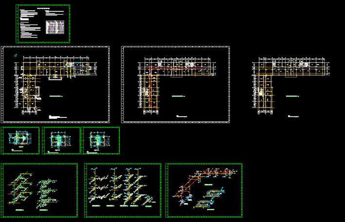 消火栓系统图中的各种图例
