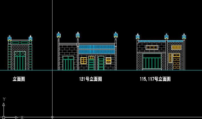 山西民居古建筑测绘 某地一层框架结构独立基础仿古建筑结构施工图
