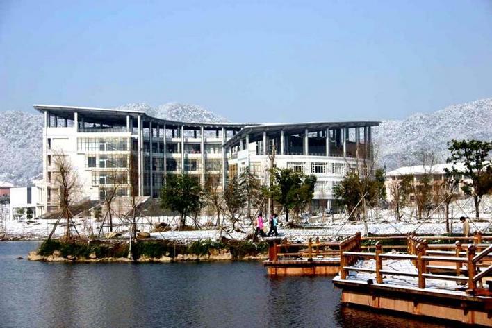 图纸 园林设计图  浙江最美的学院——林学院    林学院风景美图