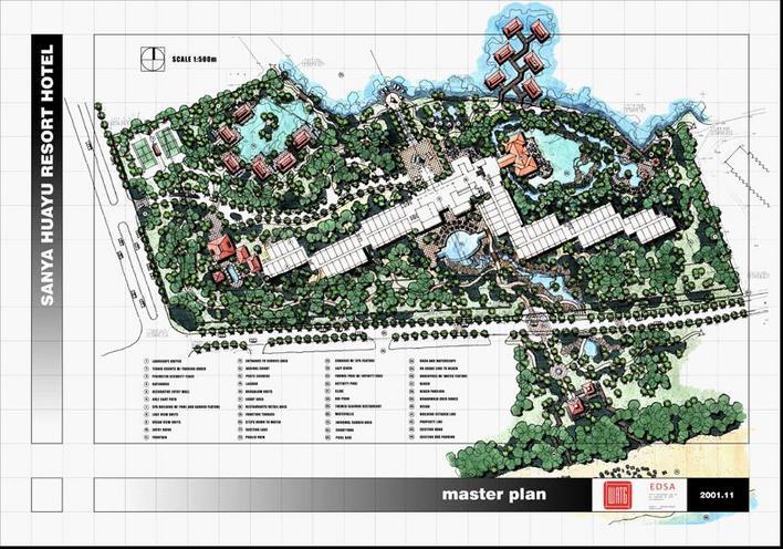 规划设计三亚凤凰岛建筑