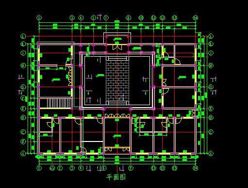 四合院全套建筑图纸