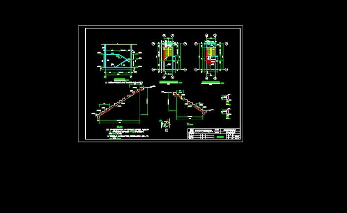 剪刀楼梯结构图