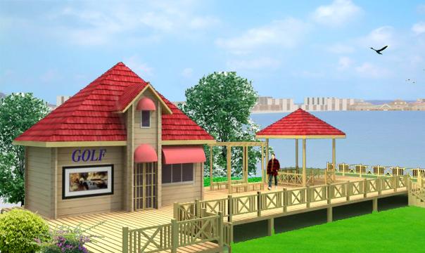 小木屋 图片