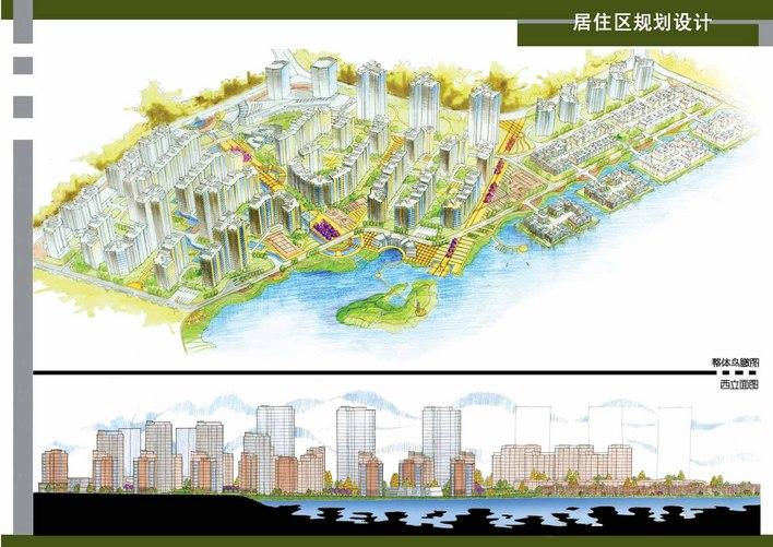滨湖居住小区规划设计