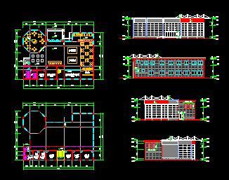 售楼部平面方案图纸6搭建乐高弩图片