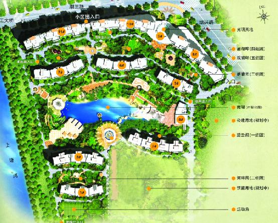 小区景观规划彩平04