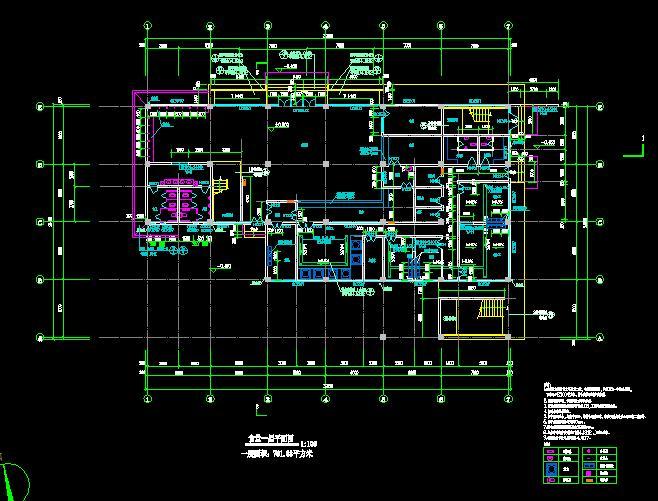 相关专题:食堂施工图中学食堂设计图食堂装修施工图食堂建筑施工图