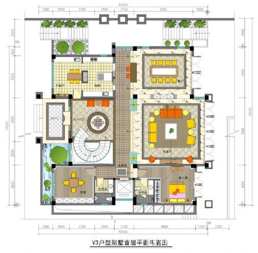 图纸 水利工程设计图  房型图   去套立面·平面图 直接可用.