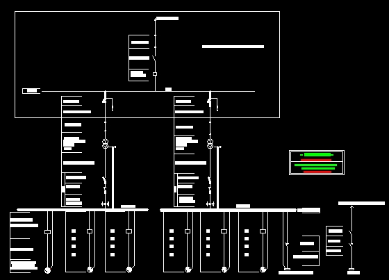 某电排站电气主接线图