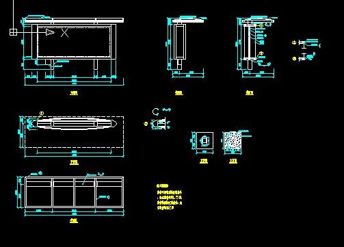 公交候车亭钢结构设计施工图 候车亭b 候车亭 别致候车亭(或景观小景)