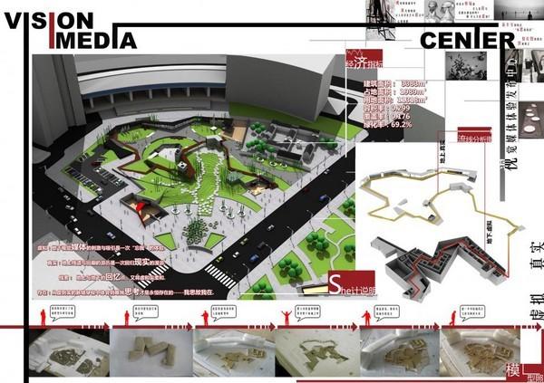 中国大学生建筑版式设计c