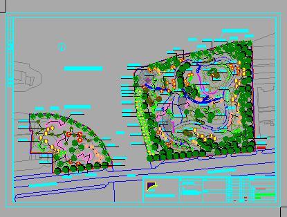 街头公园景观设计
