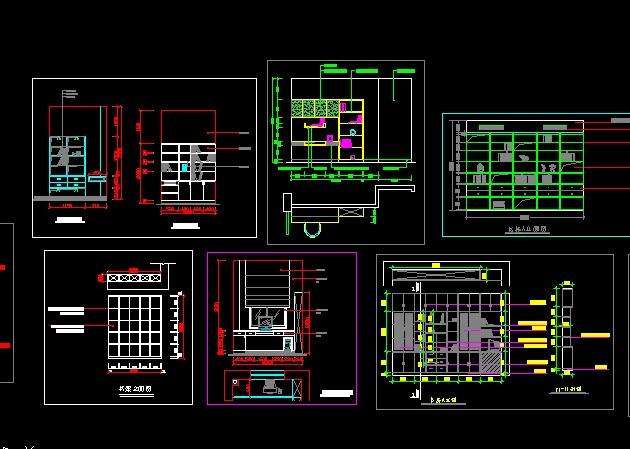 商业建筑立面图