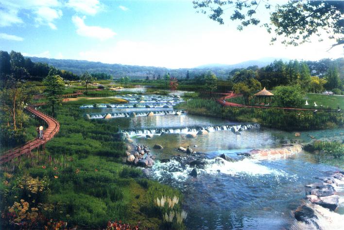 湿地公园效果图1