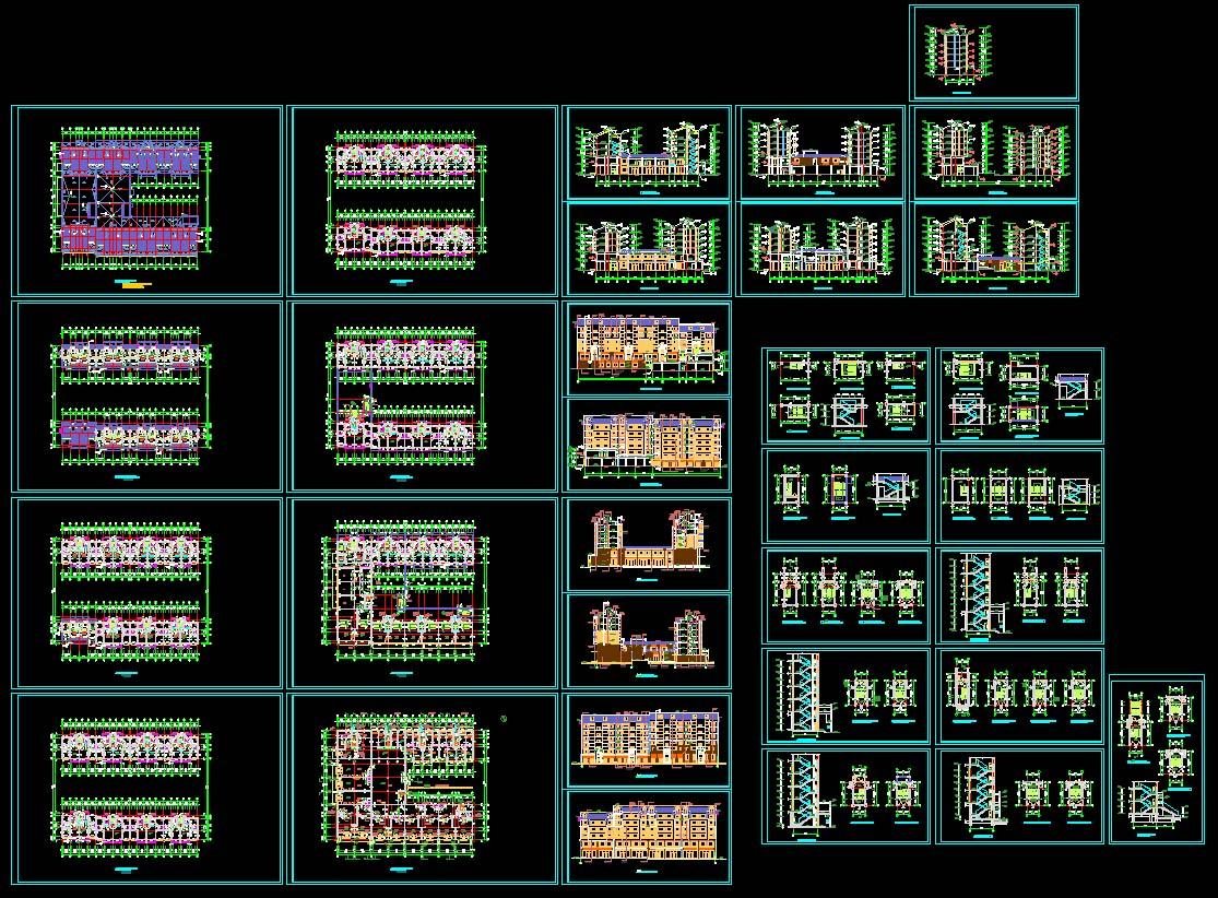 简介:底商住宅施工图 相关专题:底商住宅设计底商住宅楼底框结构施工