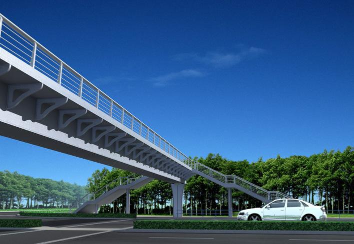 城市道路桥梁景观方案设计