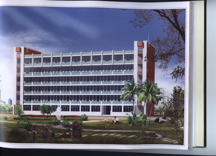 建筑图纸  六层教学楼效果图   不错的效果图  相关专题:教学楼设计图片