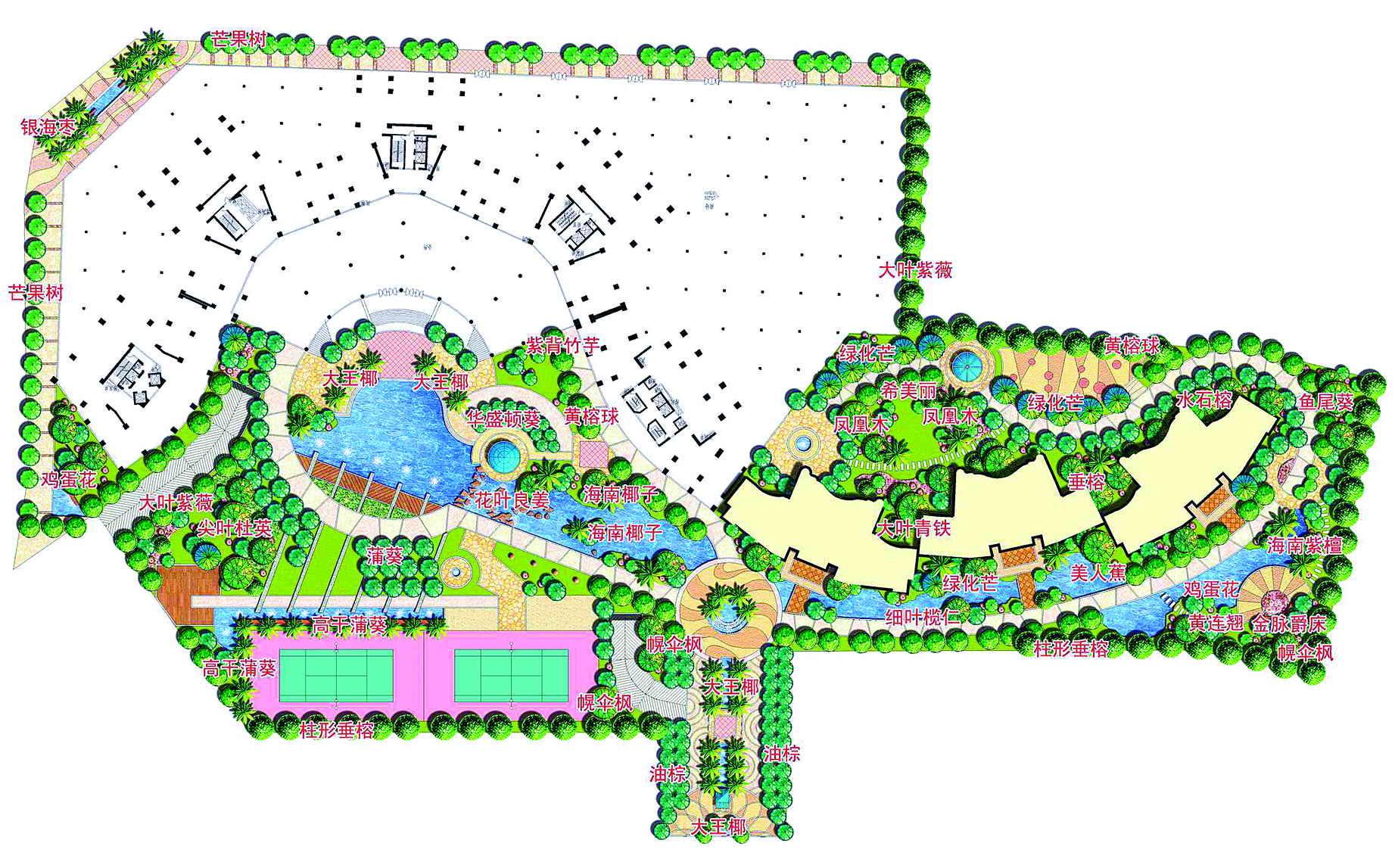 经典小区园林景观设计