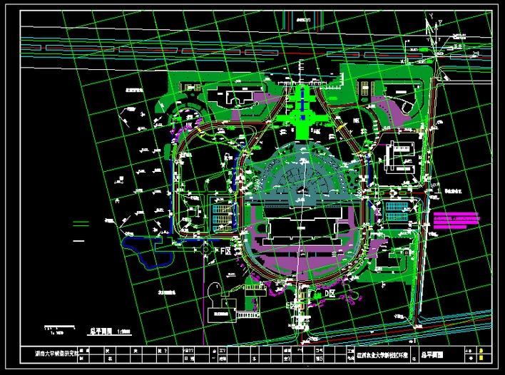学校 大学 平面图