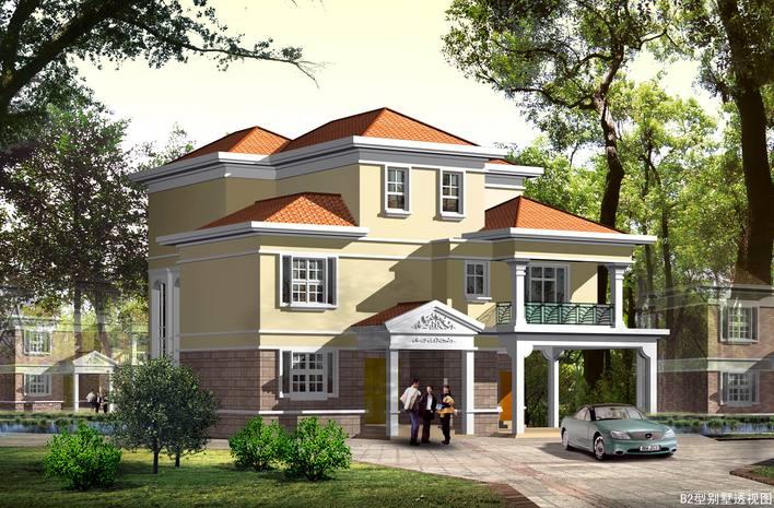 独栋别墅施工图设计