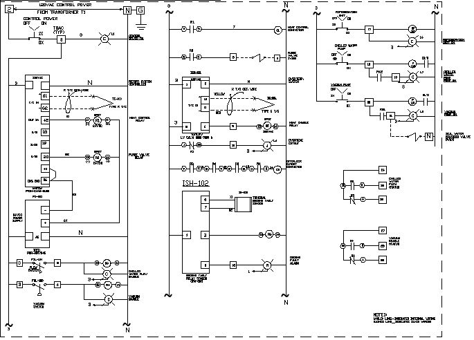 三级箱电路图一个回路