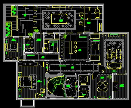 图纸 建筑图纸 别墅图纸 别墅设计图 上海别墅施工图全套  上传时间:2