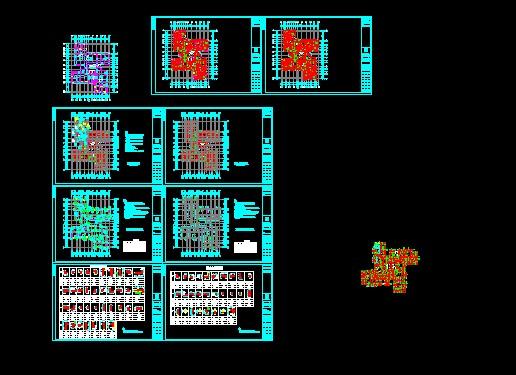 共211张) 湖南某高层住宅楼给排水全套施工图纸(水电)  上传时间:2009