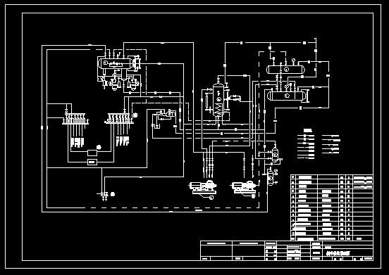 制冷原理图涡流制冷原理图制冷电气原理图冷库制冷原理图冰箱制冷原理