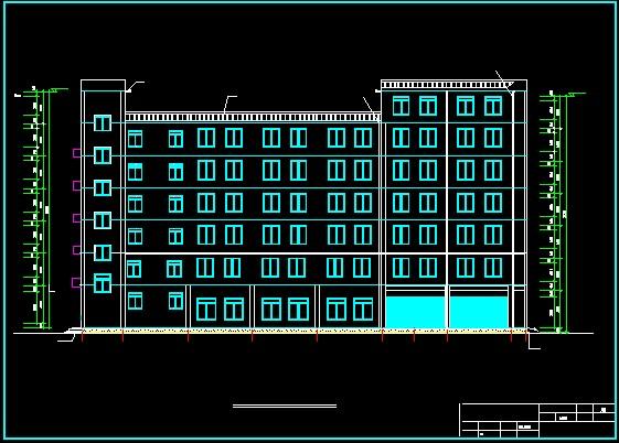 七层框架结构(枫林办公楼)毕业设计