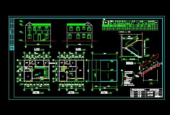 为一私人住宅,两层小洋楼