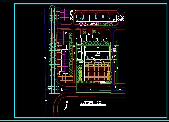 前景总平图小区规划总平图v前景小区总平图建筑总平图庭院设计总平图3d小区设计师舞美图片