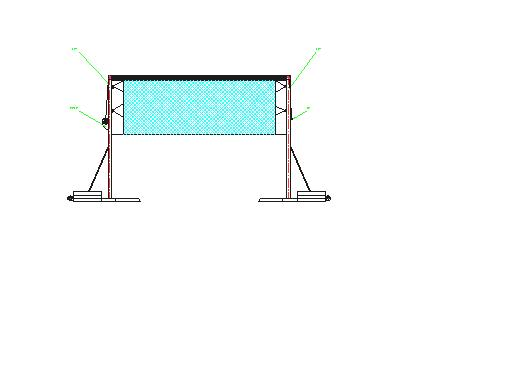 某钢结构羽毛球馆结构施工图(包含建筑设计) 某钢框架结构羽毛球馆
