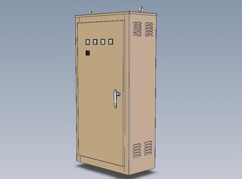 收藏xl-21三维维配电箱图