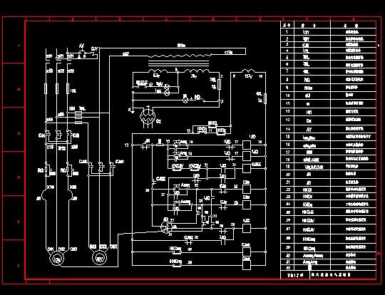 纸系统图,原理图