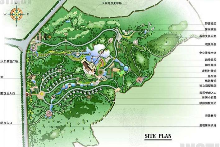 区度假村规划设计