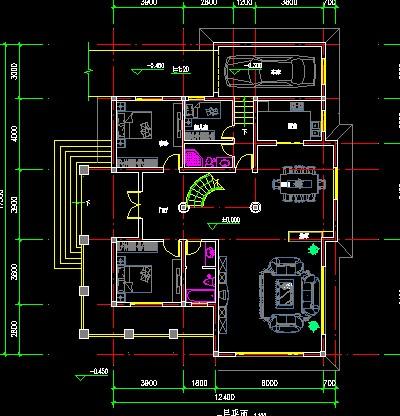 别墅平面立面设计  相关专题:别墅里面设计 别墅平面方案图 联排