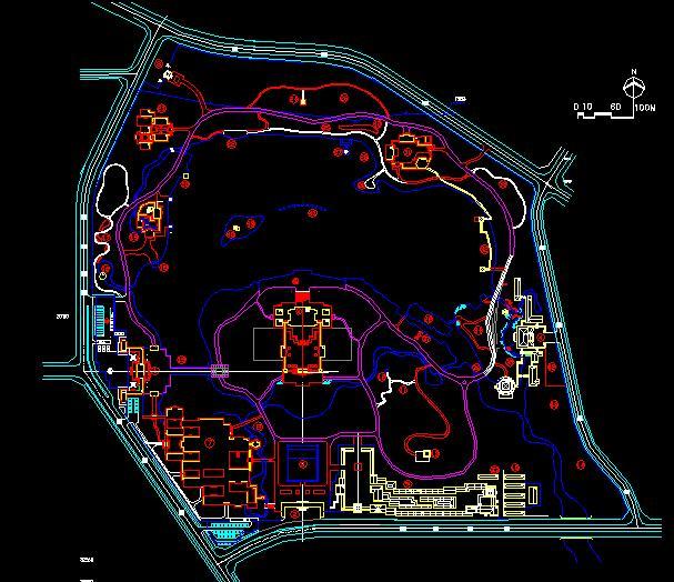 大唐芙蓉园平面图