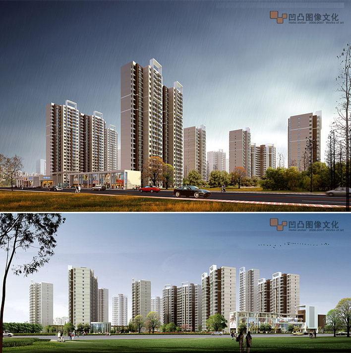 相关专题:高层住宅立面效果图住宅楼立面效果图6层住宅住宅立面6层