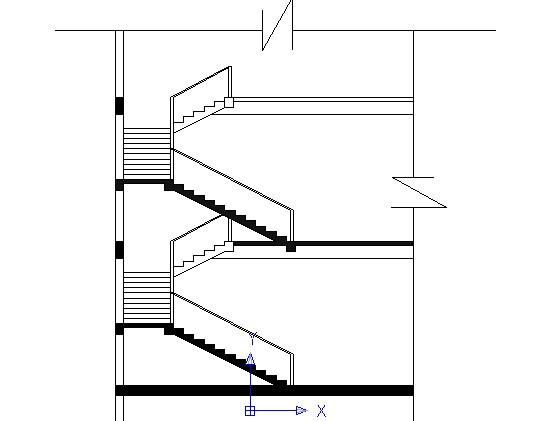 楼梯立面图画图步骤